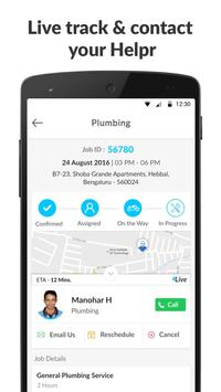 Helpr - Home Service Experts apk screenshot