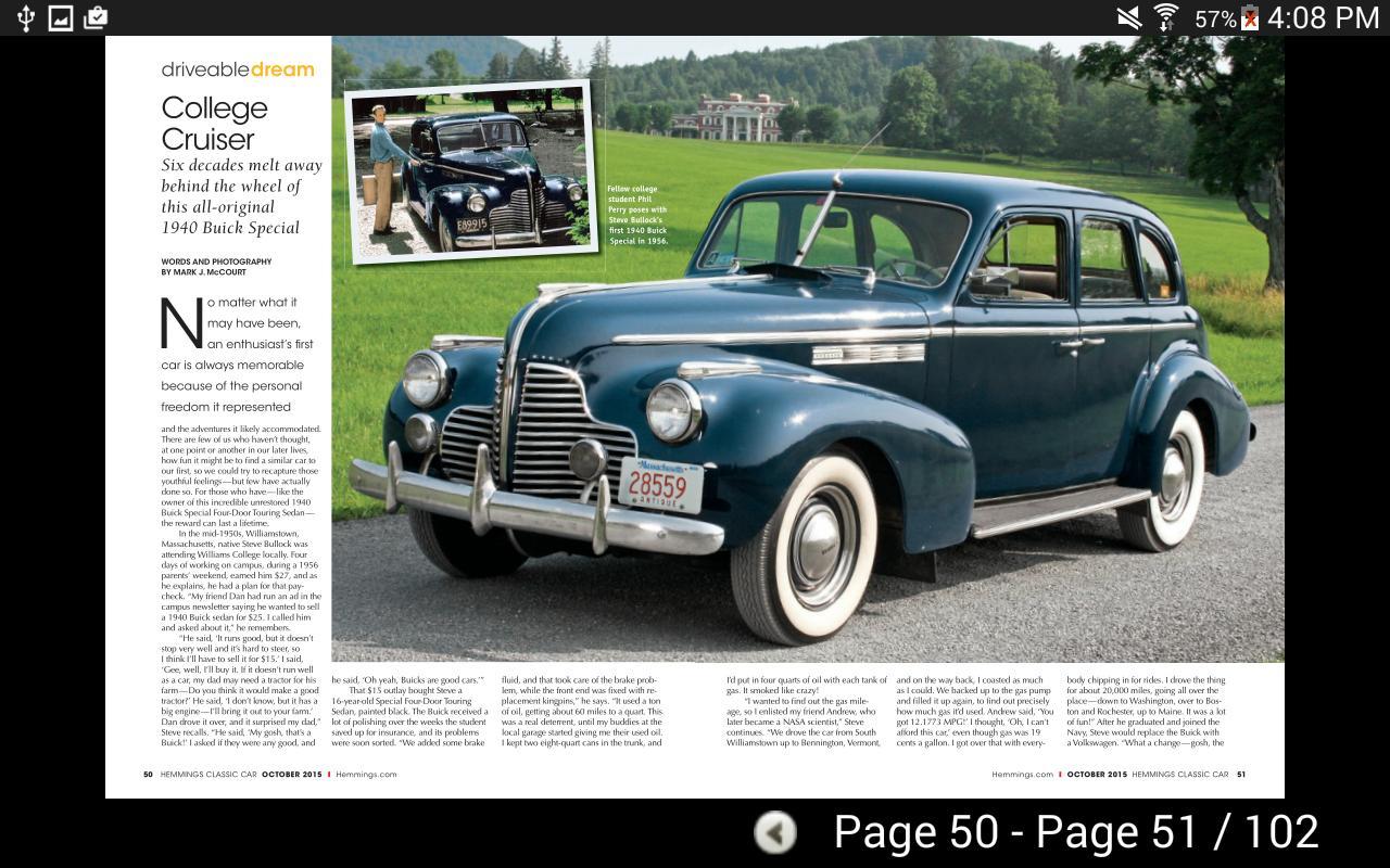 Hemmings Classic Car APK تحميل - مجاني الأخبار والمجلات تطبيق ...