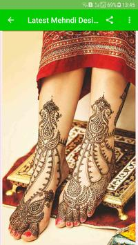 Latest Mehndi Designs(Offline) screenshot 7