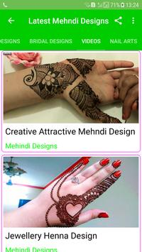 Latest Mehndi Designs(Offline) screenshot 4