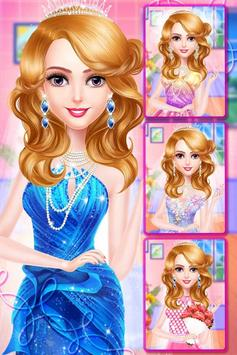 Princess makeup salon and wedding dressup screenshot 3