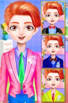 Princess makeup salon and wedding dressup screenshot 12