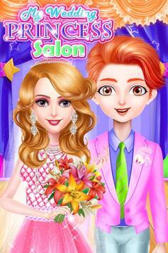 Princess makeup salon and wedding dressup screenshot 14