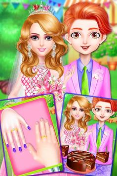 Princess makeup salon and wedding dressup screenshot 20
