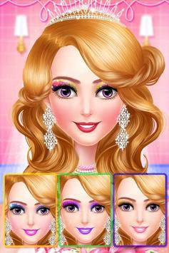 Princess makeup salon and wedding dressup screenshot 4