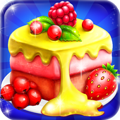 Cake Maker Mania Chef Cooking icon