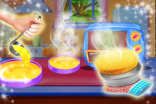 Cake Maker Mania Chef Cooking screenshot 1