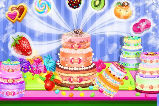 Cake Maker Mania Chef Cooking screenshot 3