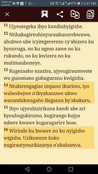 Bibiliya Yera - Kinyarwanda Bible screenshot 2