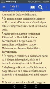 Hungarian Bible -Magyar Újfordítású Biblia screenshot 4