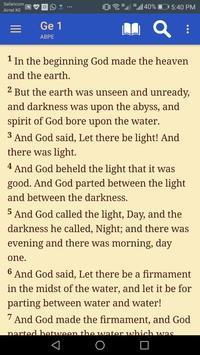 Message Bible - OFFLINE Bible screenshot 1