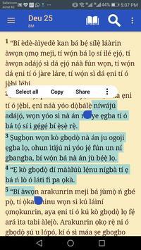 Yoruba Bible screenshot 1