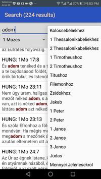 Hungarian Károli Bible screenshot 3