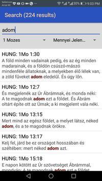 Hungarian Károli Bible screenshot 1