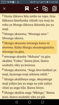 Biblia Habari Njema - Swahili Bible screenshot 1