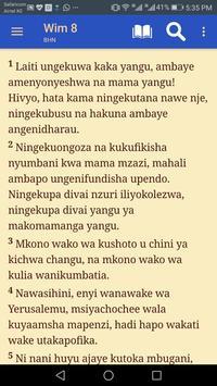 Biblia Habari Njema - Swahili Bible screenshot 4