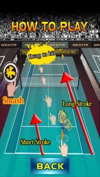 Badminton game screenshot 10