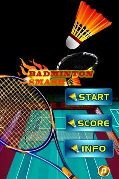 Badminton game screenshot 1