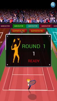 Badminton game screenshot 7