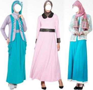 Muslim Fashion Clothing Model screenshot 2