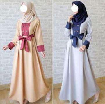 Muslim Fashion Clothing Model screenshot 3