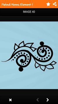 Draw Henna Tattoo Design apk screenshot