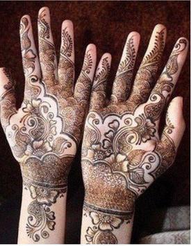 henna designs poster