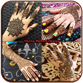 Henna mehndi design icon