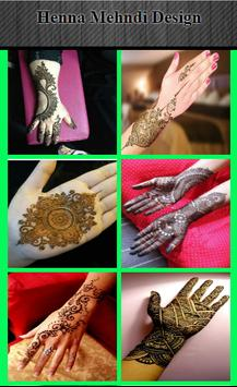 Henna mehndi design screenshot 1