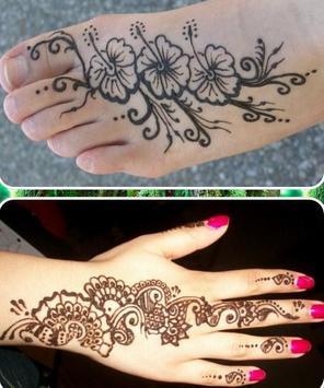 henna tattoo designs poster
