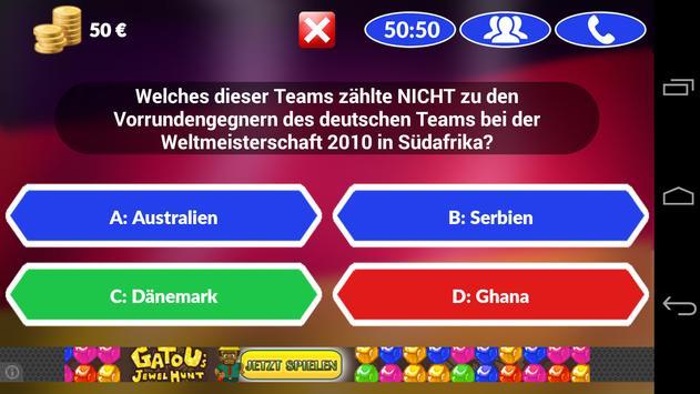 Fussball Quiz 2014 screenshot 2
