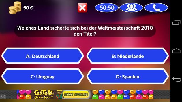 Fussball Quiz 2014 screenshot 4