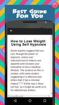 Weight Loss Hypnosis screenshot 1