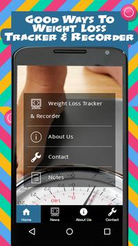 Weight Loss Tracker & Recorder poster