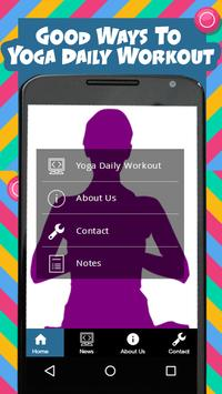 Yoga Daily Workout poster