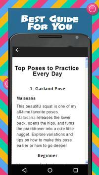 Yoga Daily Workout screenshot 1