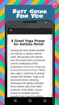 Yoga For Asthma screenshot 3