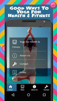 Yoga For Health & Fitness screenshot 2