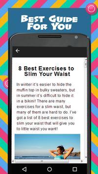 Yoga For Slim Waist screenshot 1