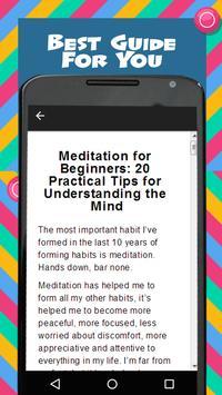 Yoga Meditation For Beginners screenshot 1