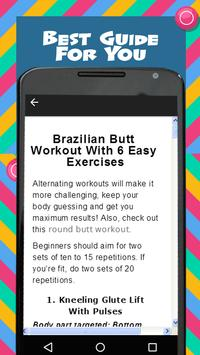 Brazilian Glutes Workout screenshot 3