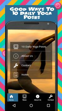 10 Daily Yoga Poses screenshot 2