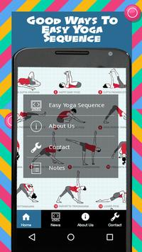 Easy Yoga Sequence poster