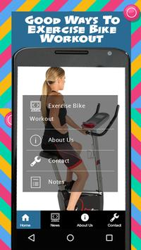 Exercise Bike Workout poster