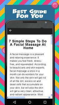 Facial Massage screenshot 3
