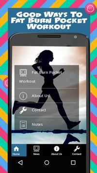 Fat Burn Pocket Workout poster