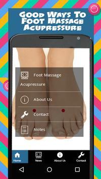 Foot Massage Acupressure poster
