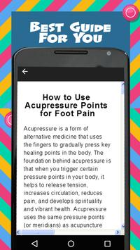 Foot Massage Acupressure screenshot 1