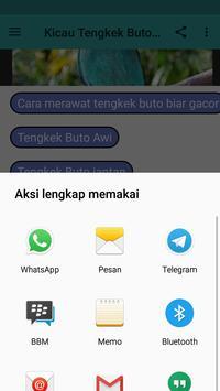 Kicau Tengkek Buto Lengkap apk screenshot