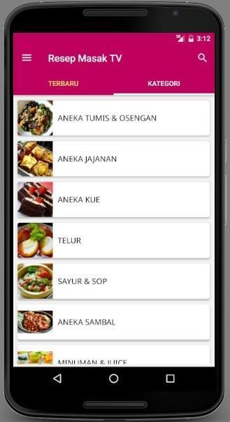 Resep Masak Tv Para Android Apk Baixar